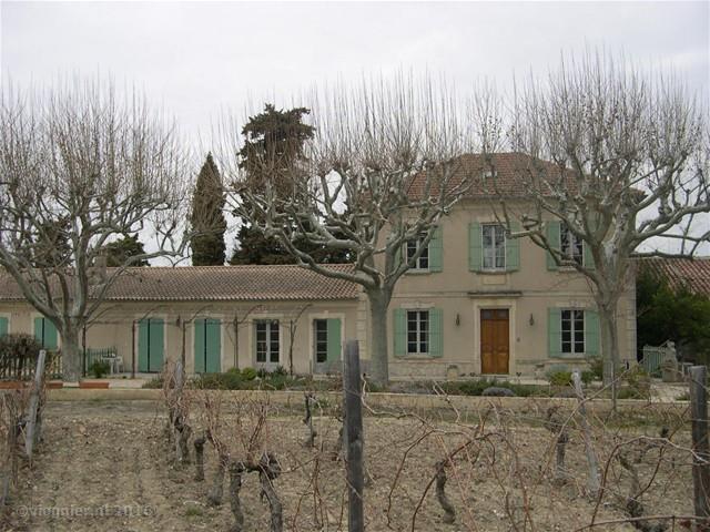 Château du Trignon in de winter