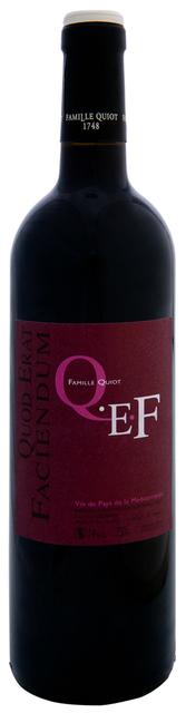 Quiot - Qef rouge - syrah