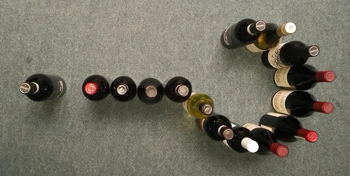 Het wijnabonnement, altijd weer een leuke verrassing