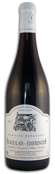 Beaujolais Emeringes, Bergeron