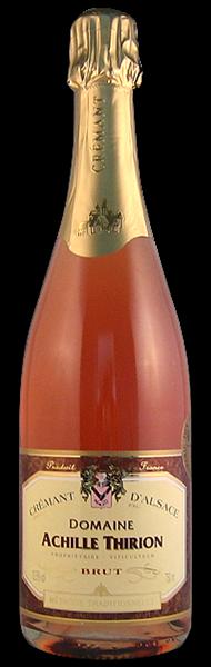 Domaine Achille Thirion Crémant d'Alsace, rosé