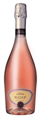 Casa Coller, Spumante brut rosé