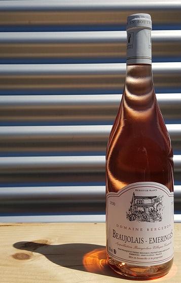 Domaine Bergeron rosé Beaujolais Emeringes